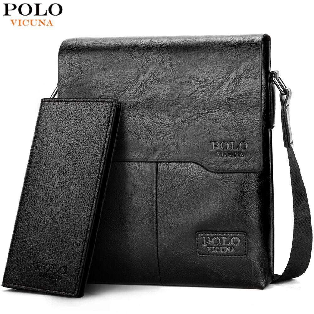 09a952d900a32 VICUNA POLO Men Shoulder Bag Classic Brand Men Bag Vintage Style Casual Men  Messenger Bags Promotion Crossbody Bag Male Hot Sell Brand Men Bag Men  Messenger ...