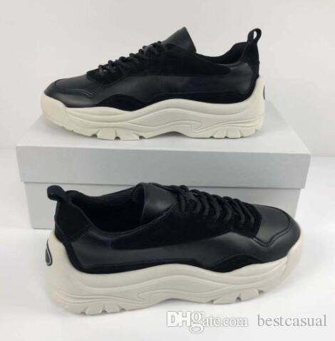 4d1a30c0b90a6 Designer Shoes Women Men Fashion Casual Dress Shoe Daddy Shoes Woman Shoe  Lady Boy Shoe New Hike Shoes Suede Triple S High Quality Pantshoes Shoes  Online ...