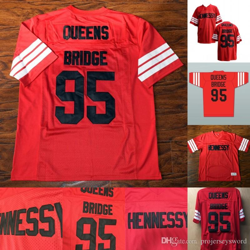 84a47e8a4 2019 Mens STEENBERGE Prodigy 95 Hennessy Queens Bridge Football Jersey  Cheap 100% Stitched Red Fast Shipping S XXXL From Projerseysword, $17.12    DHgate.Com