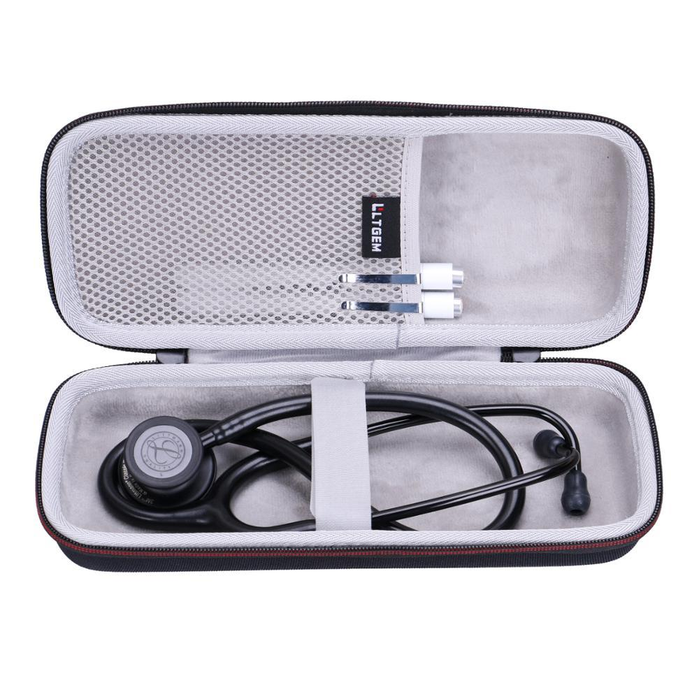 LTGEM EVA Waterproof Shockproof Carrying Hard Case for 3M Littmann Classic III Monitoring Stethoscope