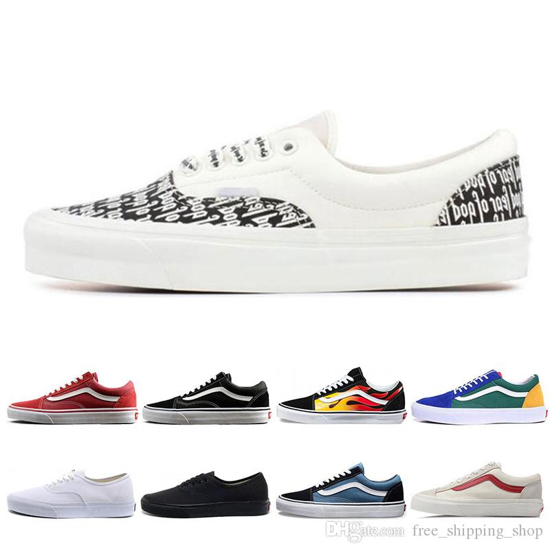 Fear Of God x Era 95 old skool Men Women Casual Shoes Revenge X Storm Yacht Club Sports Sneakers size 36-44