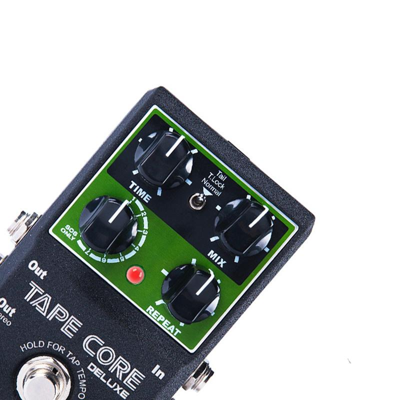 NUX Tape Core Deluxe Tape Echo Delay Effects Pedal Classic Tape Echo Tone 7 delay Modes guitar pedal for electronic guitar