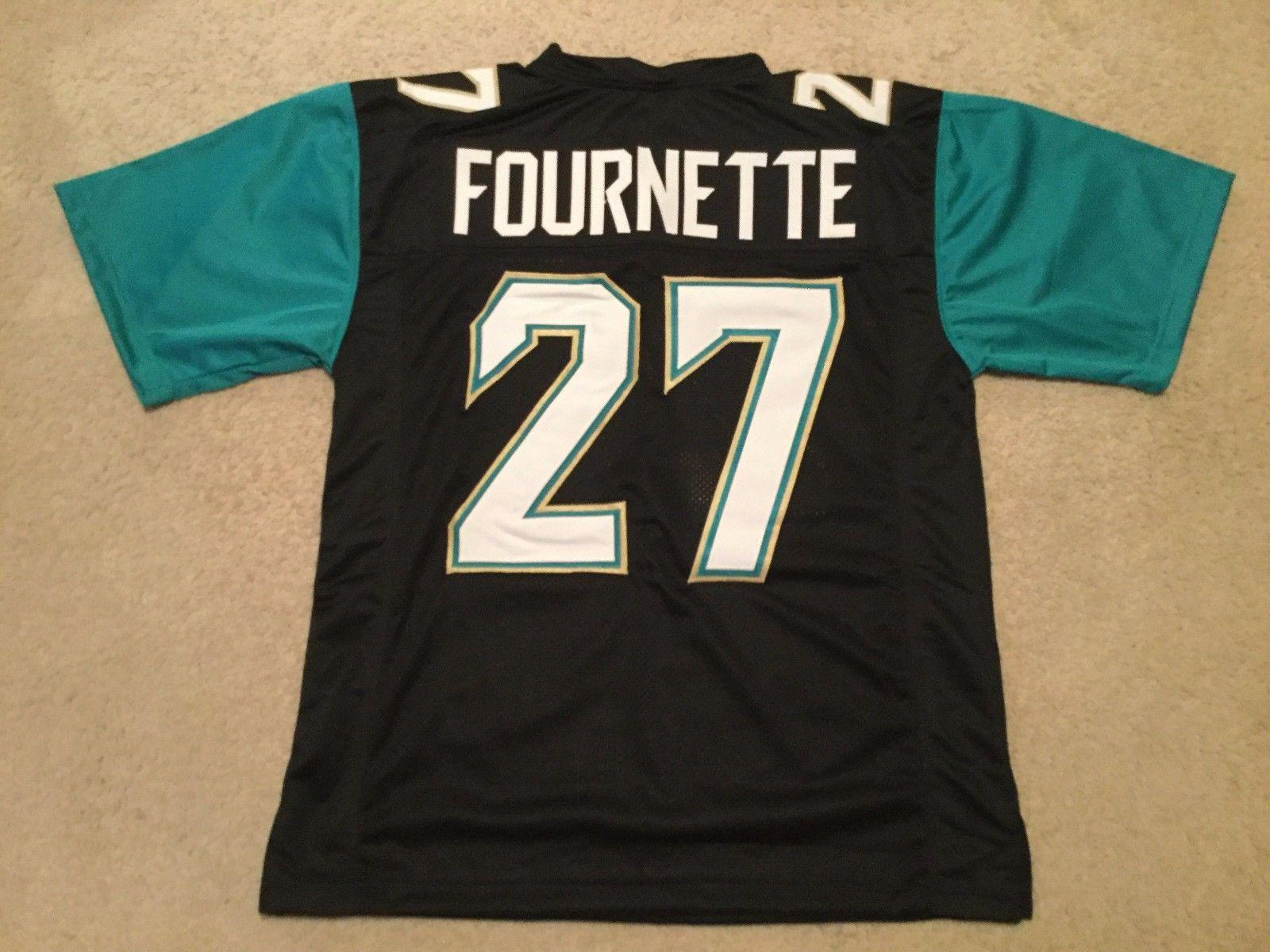 purchase cheap 1c402 636df Custom Retro Leonard Fournette Black Jersey - Mitchell & Ness Stitching  men's Football Jerseys size s-5XL or custom any name number