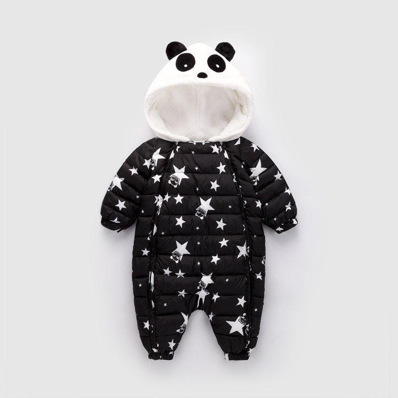 278d080fd9ed 2019 Good Quality Newborn Romper Winter Cartoon Hooded Thicken ...