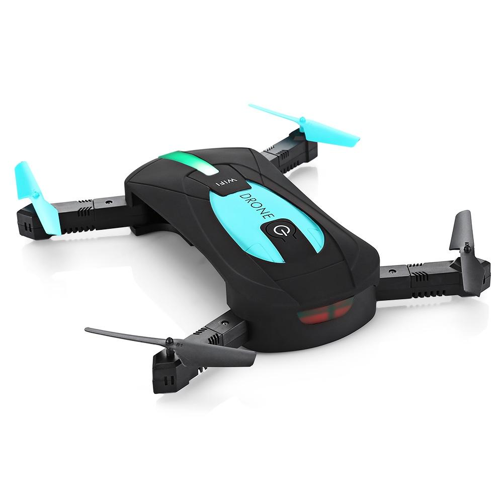 JY018 Mini Foldable RC Pocket Drone BNF WiFi FPV 0.3MP Camera 480P Video G-sensor Mode Air Press Altitude Hold RC Helicopter
