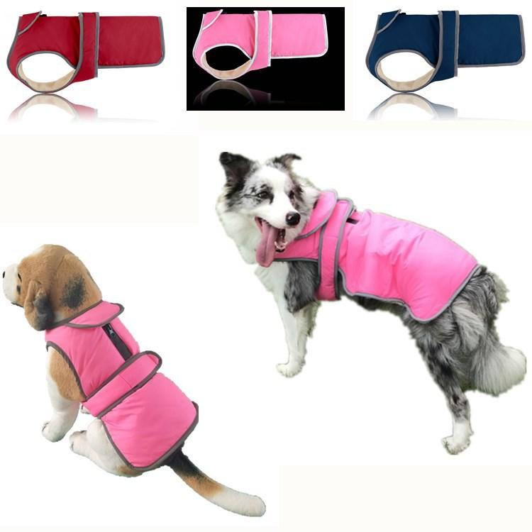 The new lapel pet dog clothes fall and winter clothes clothing coat vest Amazon supplies Pet dog Sweater collars