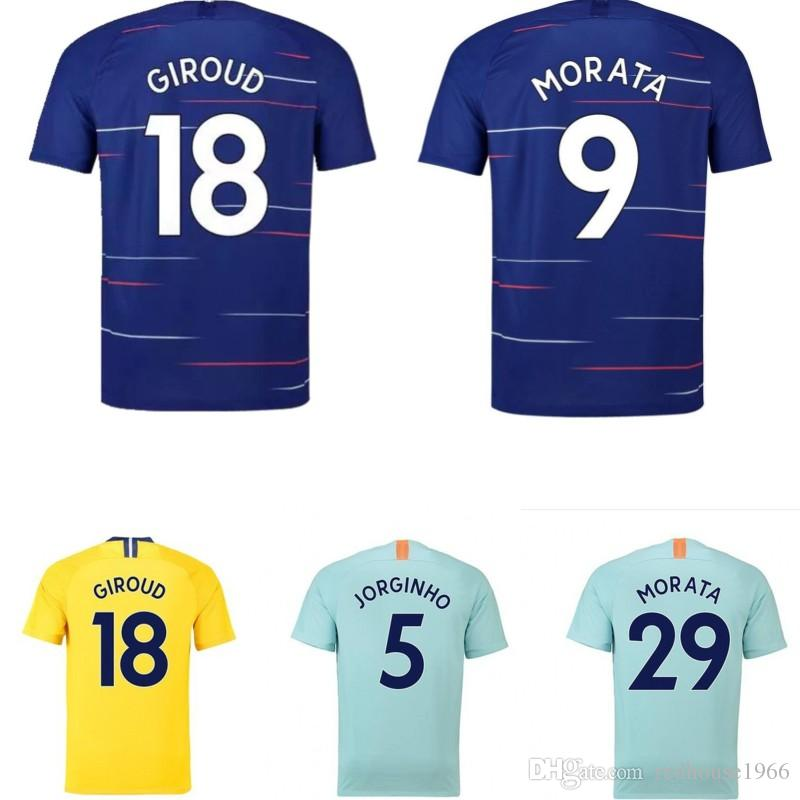 1819 Football Sportswear Women Men Chándal De Fútbol Home Game 3 ... 7804ed5d38