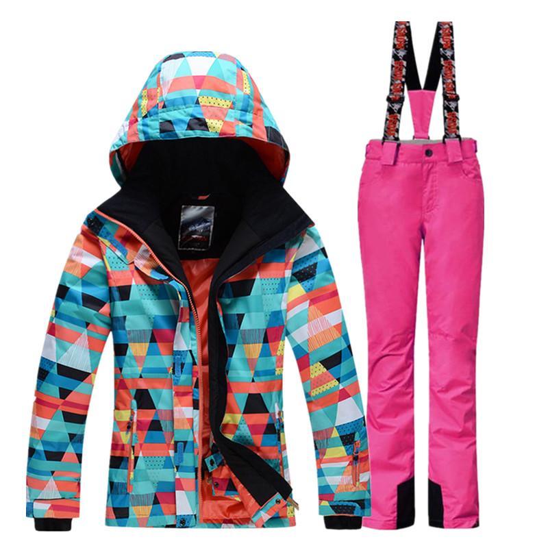 96cc7d366 New Winter Skiing Jackets Women Ski Coat Snowboard Jacket Ski Suit ...