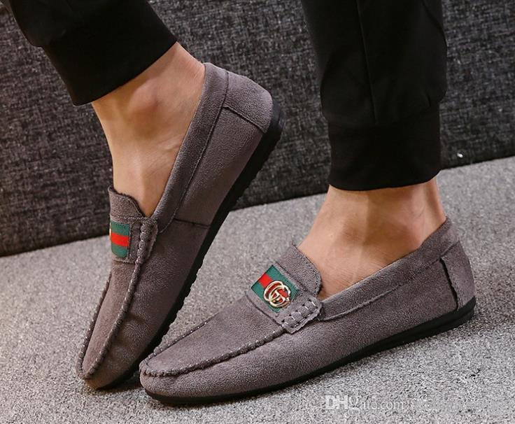 f459dda35bc3 HOT Men Shoes Fashion Trend Canvas Shoes Male Casual Mens Low Leisure Shoes  Male Autumn Flat Breathable Zapatillas Hombre Discount Shoes Mens Loafers  From ...