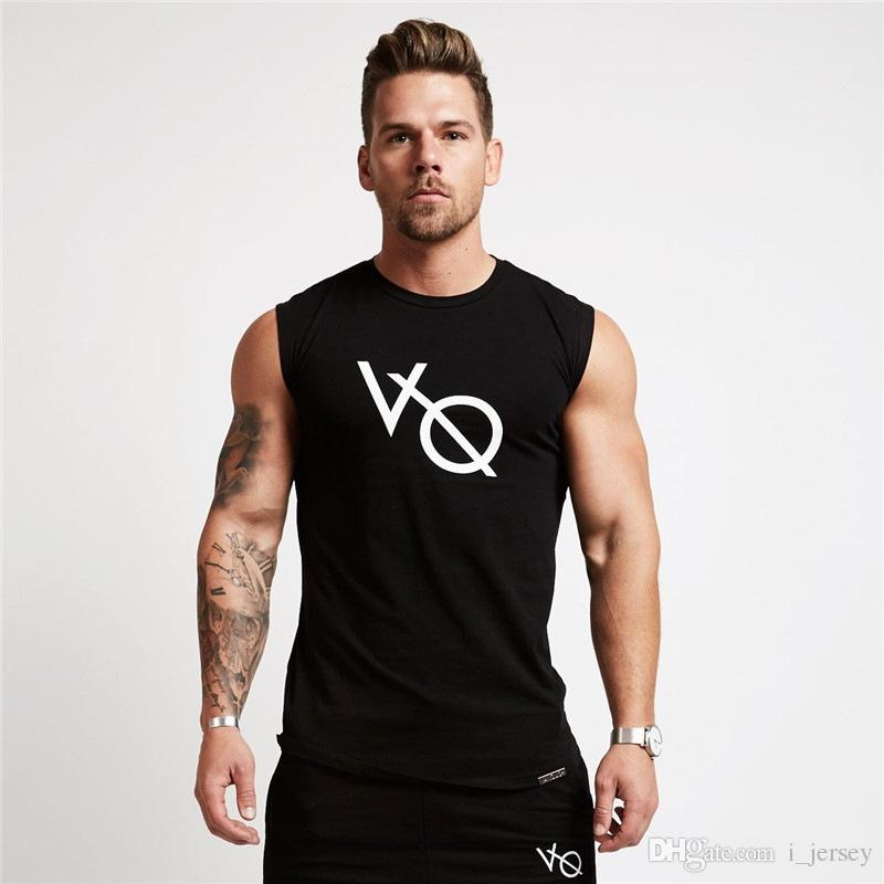 041b65fc48530 2019 HETUAF Bodybuilding VQ Brand Tank Top Men Stringer Tank Top Fitness  Singlet Sleeveless Shirt Workout Man Undershirt Clothing  105391 From  I jersey