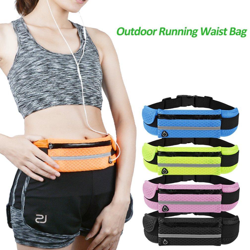159ba97fb4e Outdoor Running Waist Bag Multifunctional Men Women Waterproof Bag Travel  Camping Cellphone Waist Pouch 12 Color Hot Sale