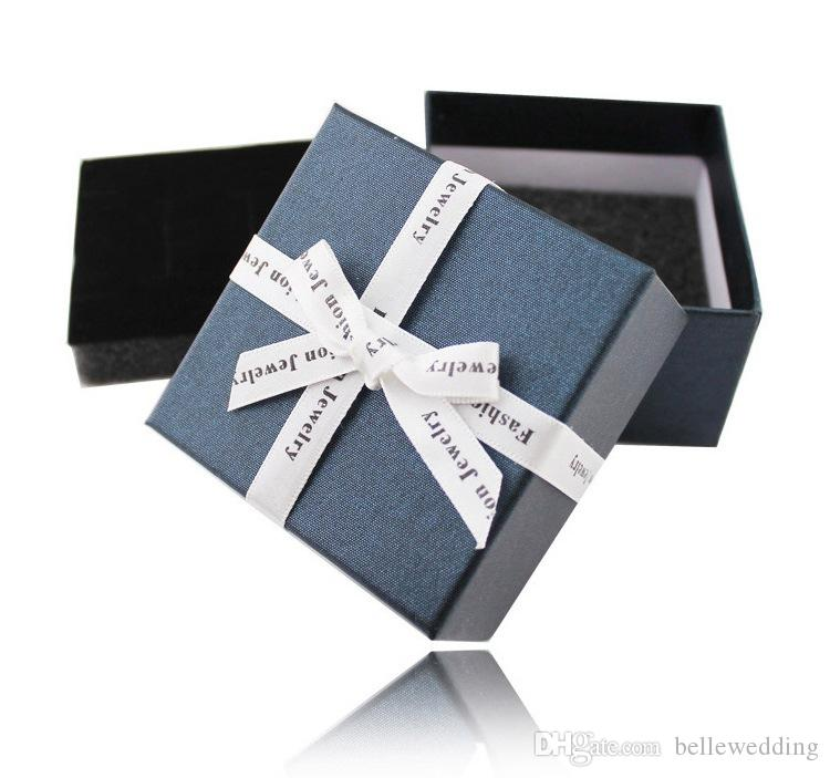 Wedding Jewelry Boxes For Earrings Rings Bridesmaids Bridal Party Gift Boxes Extra Boxes For Earrings Necklace Brooch BW-LH003