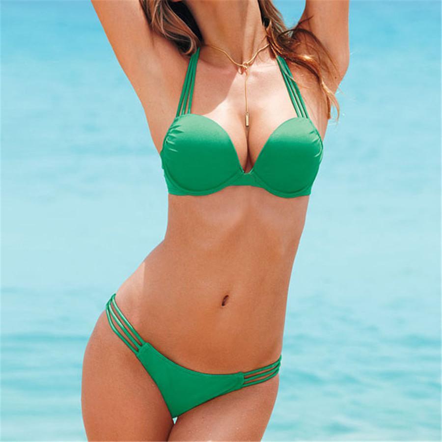 Leopard Bikini Sexy Swimwear Women Swimsuit Push Up Bikinis Set Brazilian Bathing Suits Beach Wear Girls Biquini Tanga