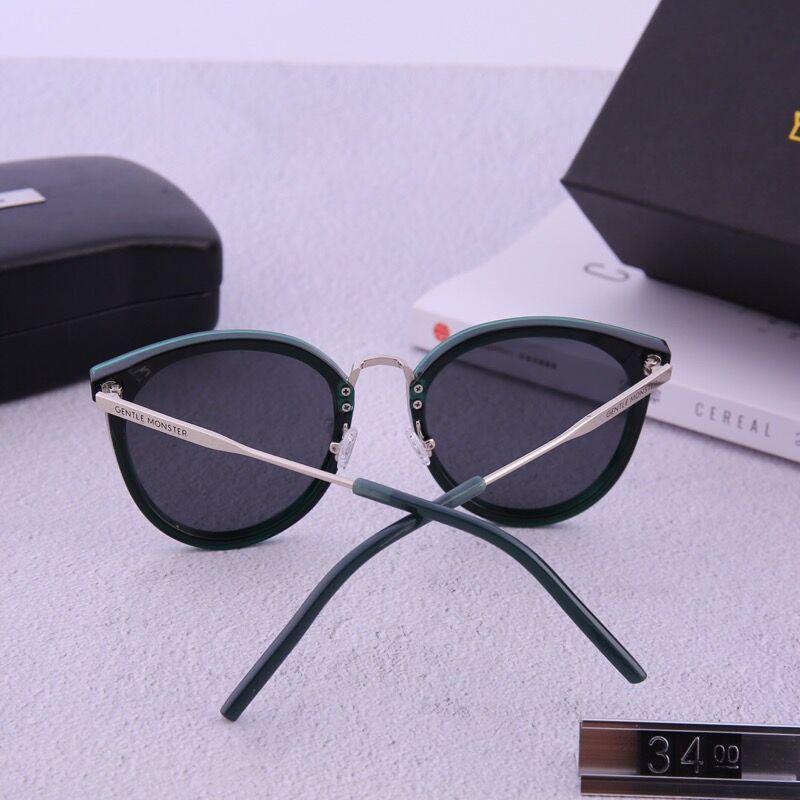 eb0ee015e4 Compre 2018 Moda Gafas De Sol Redondas Gafas Gafas De Sol Diseñador De La  Marca Marco De Metal Negro Lentes De Cristal Oscuras De 50 Mm Para Hombre  Para ...