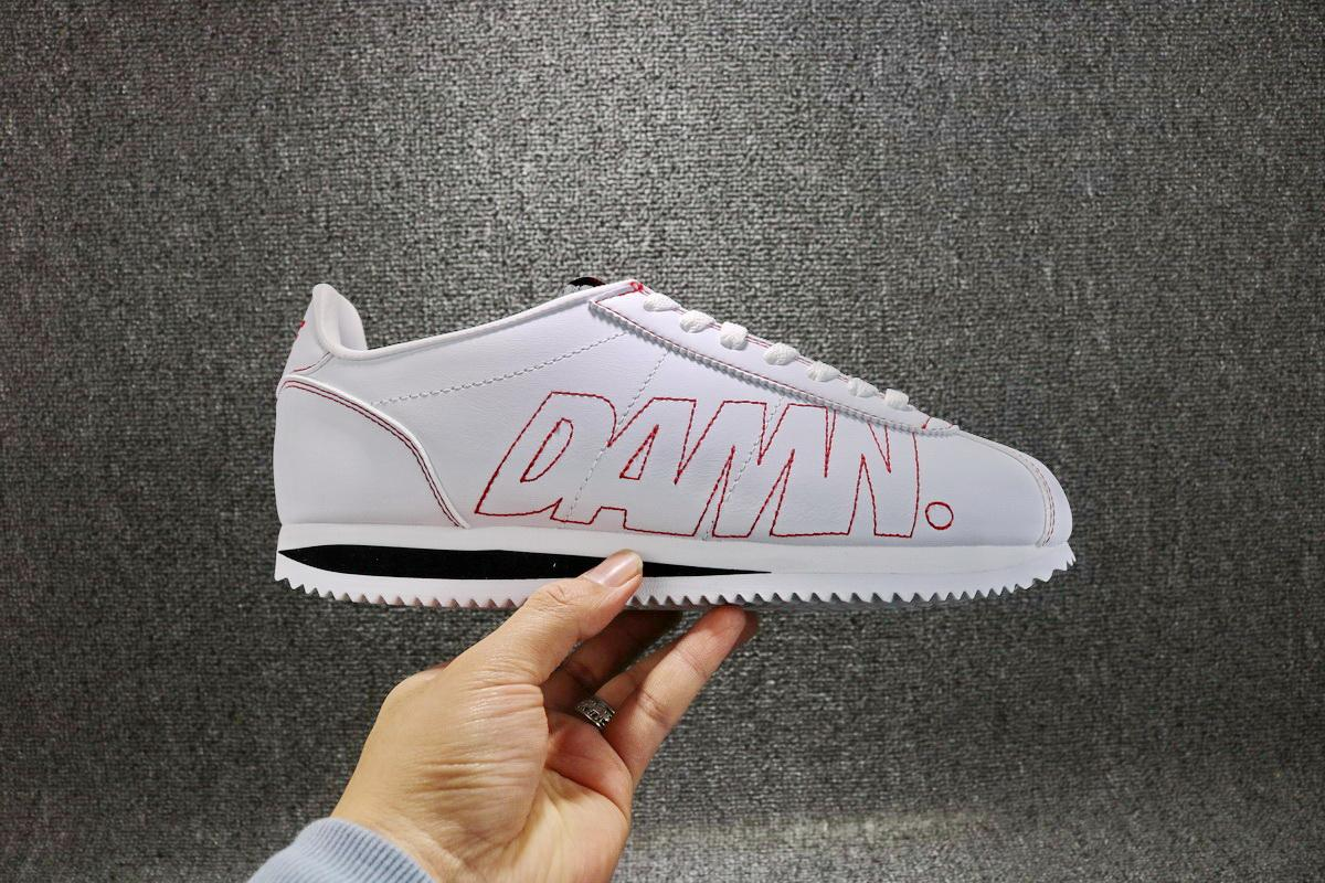 save off 9e687 41ea5 Free Shipping Womens Mens Kendrick Lamar x Cortez Kenny 1 Damn Casual Shoes  Come With Box