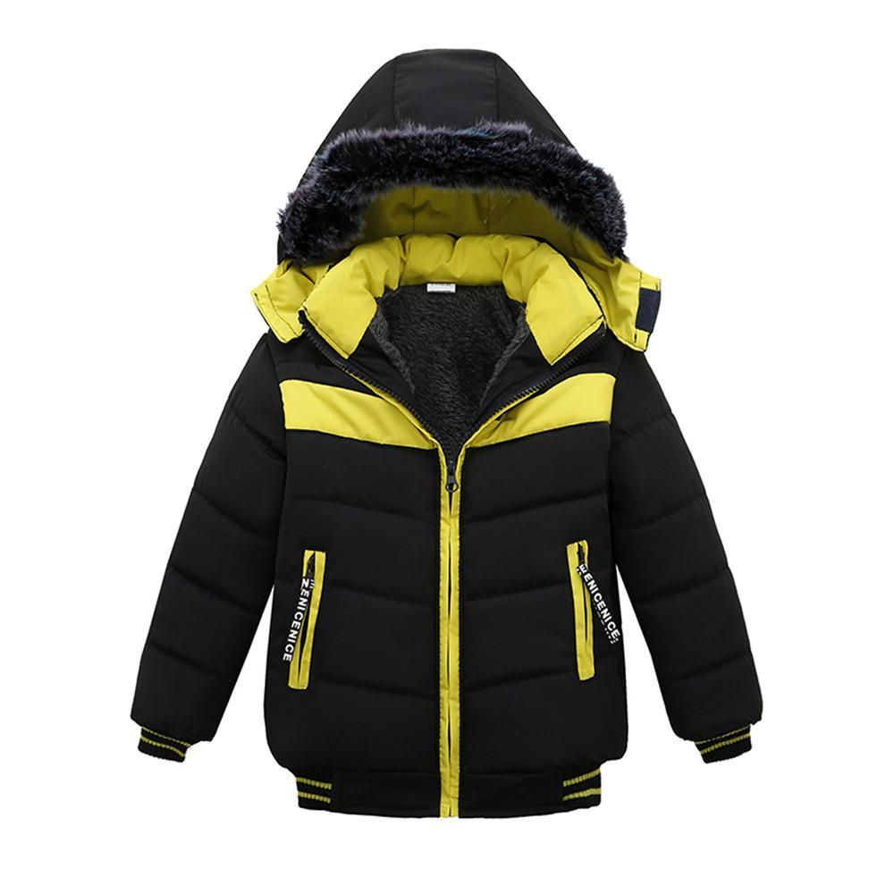 9e93d7ea8 good quality Chlidren baby coat Boys Winter Warm Coats Jacket Kid Zipper  Thick Hoodie Outerwear Winter Clothes veste enfant fille