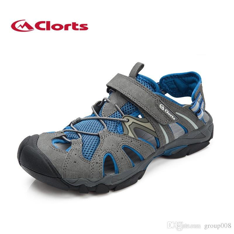 a2627a7b9c96 2019 Clorts Men Aqua Shoes Beach Sandals Quick Dry Summer Outdoor ...
