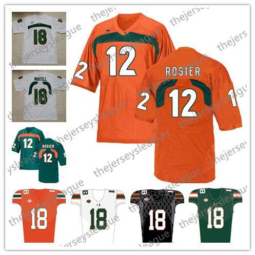 511f90161 2019 Miami Hurricanes 2019 #12 Malik Rosier Jr. 26 Sean Taylor 24 ...