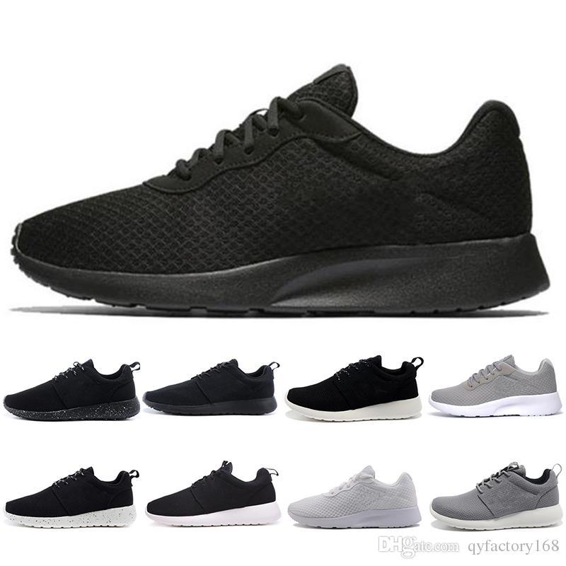 26aecc53611c Tanjun Run Running Shoes Men Women Black Low Lightweight Breathable ...