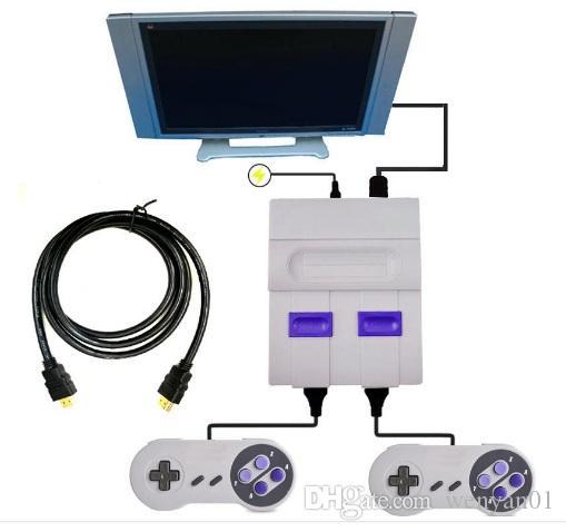 HDMI خارج TV حدة تحكم لعبة يمكن تخزين 821 ألعاب فيديو محمول للألعاب SNES لوحات المفاتيح اللعب دي إتش إل الحرة