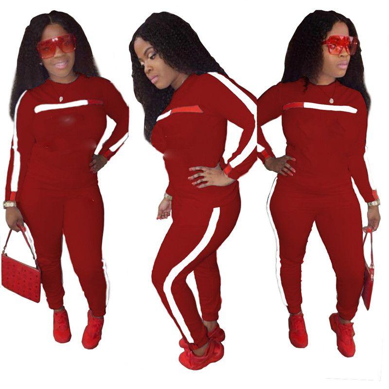 0982118185 Compre 2019 Diseñador De La Marca Mujer Chándales Letra C Conjuntos De Dos  Piezas Sudaderas Con Capucha Pantalones De Manga Larga Pantalones De Manga  Larga ...