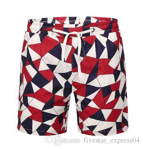 Hayat Moda Erkekler Plaj Şort Yaz Pamuk Nefes Erkek Kurulu Sandıklar Klasik Mayo Spor Kısa Pantolon Kırmızı Boyutu M-XXXL