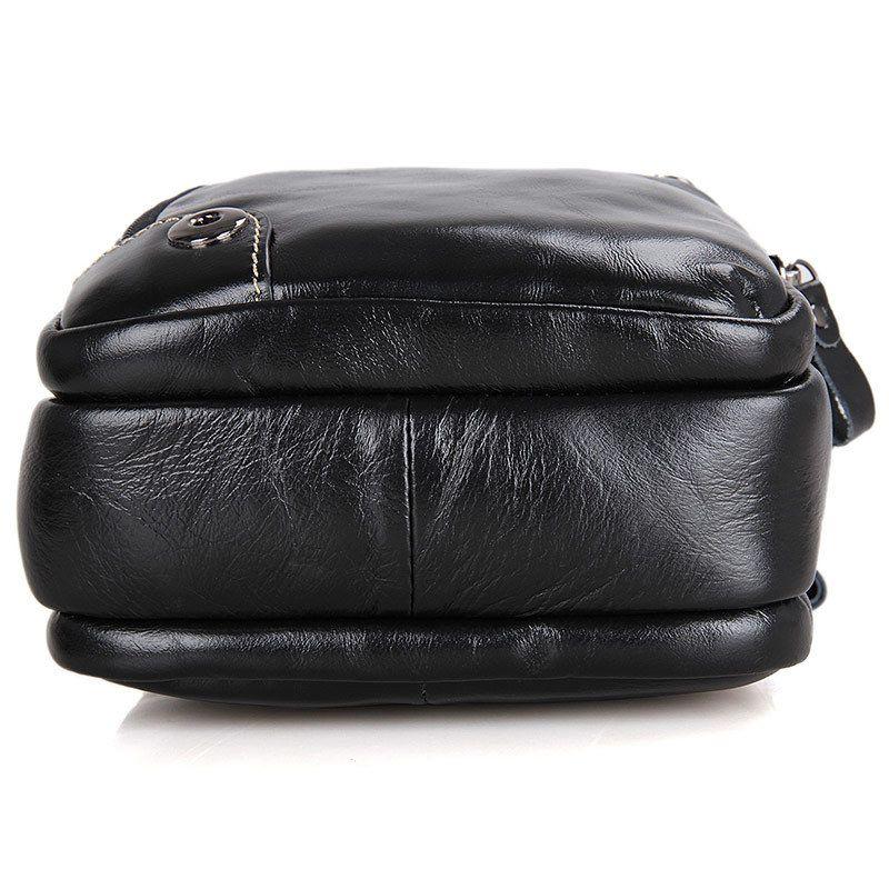 Andralyn Men Messenger Bag Genuine Leather Vintage Men's Crossbody Bags Casual Designer Small Handbags Satchel for Men