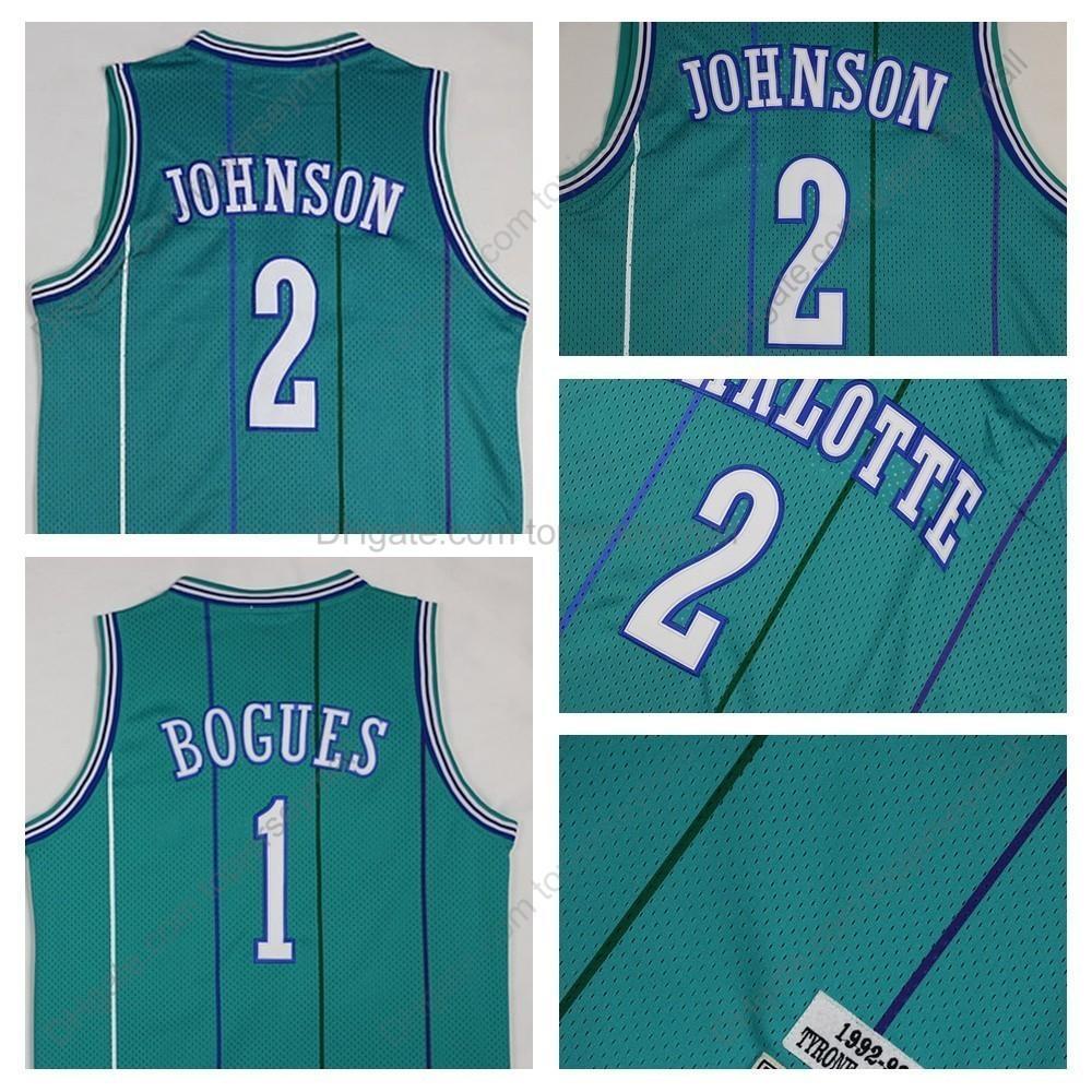 1f5e8047a 2019 Top Quality Vintage Charlotte Muggsy Bogues Hornets Basketball ...