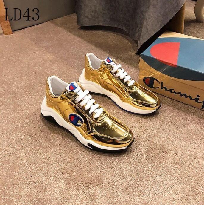 99fe283b195b3 2019 G25 New Mens Champion casual shoes Luxury Brand men s Gucci shoes  Designer Louis Vuitton sport Shoes size 38-45