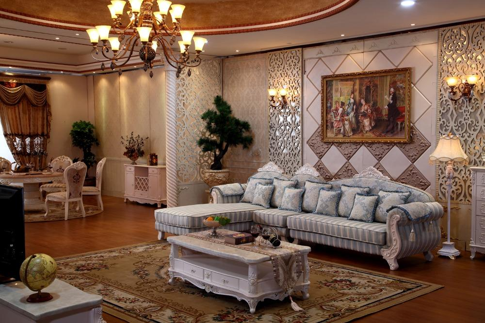 Salon américain pour chaise longue / sofa sectionnel inclinable / canapés  en forme de L avec des prix bon marché