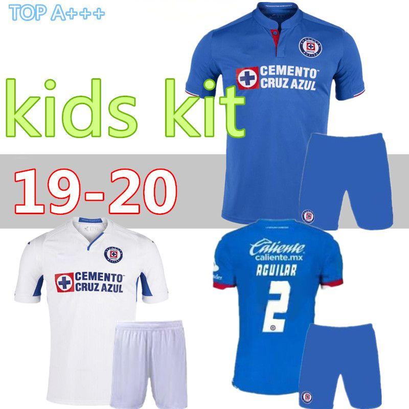 189d7936f 2019 2019 2020 Mexico Club Kids Kit Cruz Azul Liga MX Teenager Soccer  Jerseys Uniform19 20 Tigers UANL Child Football Shirts Camisetas De Futbol  From Cst726 ...