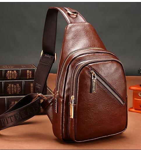 Wholesale FD BOLO Brand Bag Men Chest Pack Single Shoulder Strap Backpack  Leather Travel Bag Men Crossbody Bags Fashion Rucksack Chest Bag Leather  Backpack ... 479d882216841