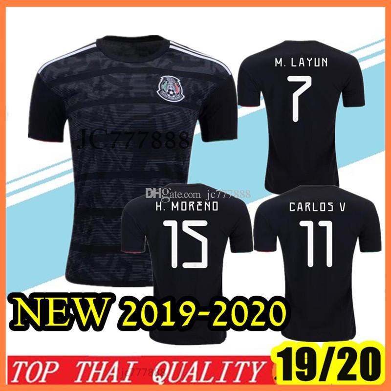 8af16ce45b9 S-2XL New 2019-2020 Mexico Club H.LOZANO G.DOS SANTOS CHICHARITO ...