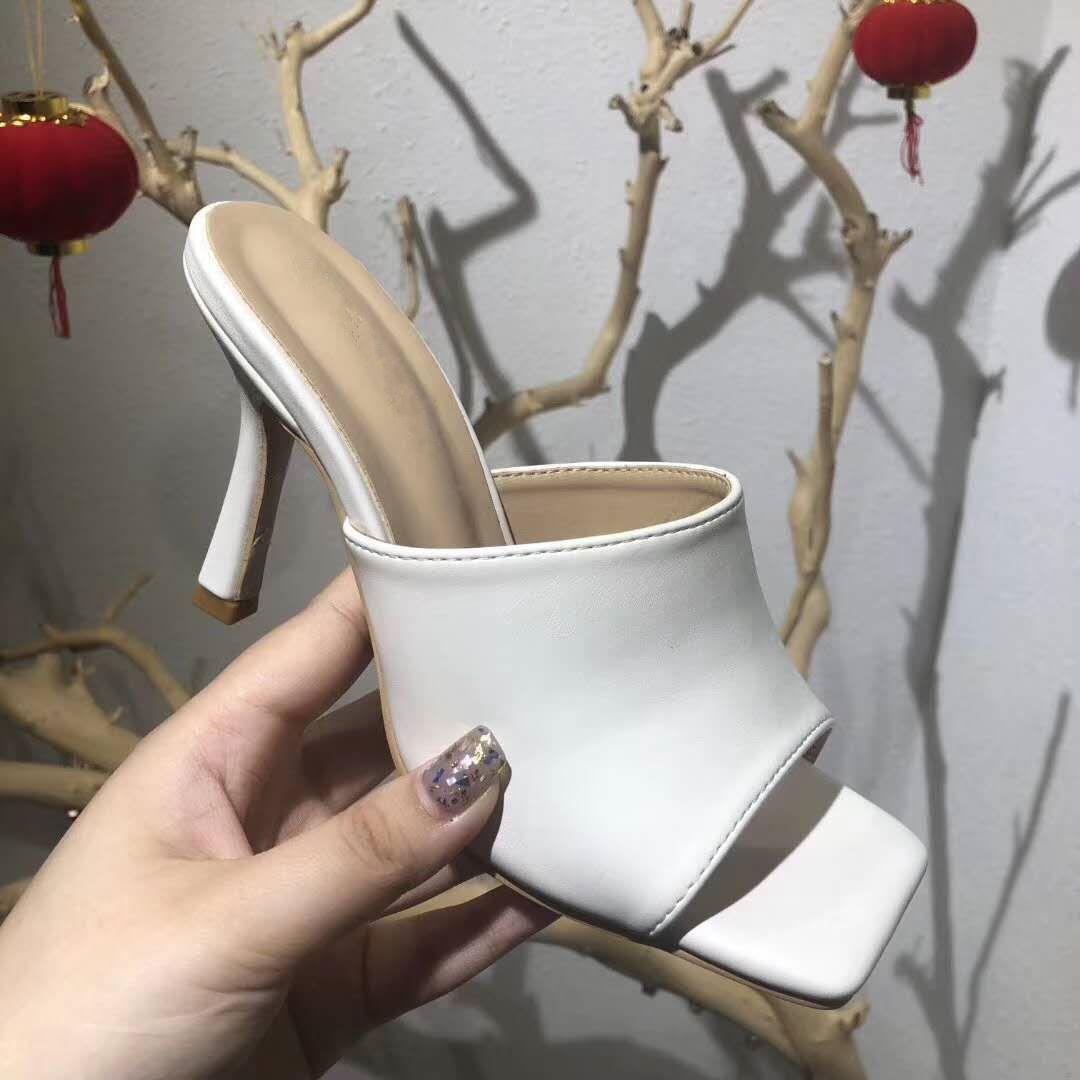 Çoklu renkler kare taban kökenli paket büyüklüğü 35-41 tradingbear ile sandal hakiki deri katırları germek