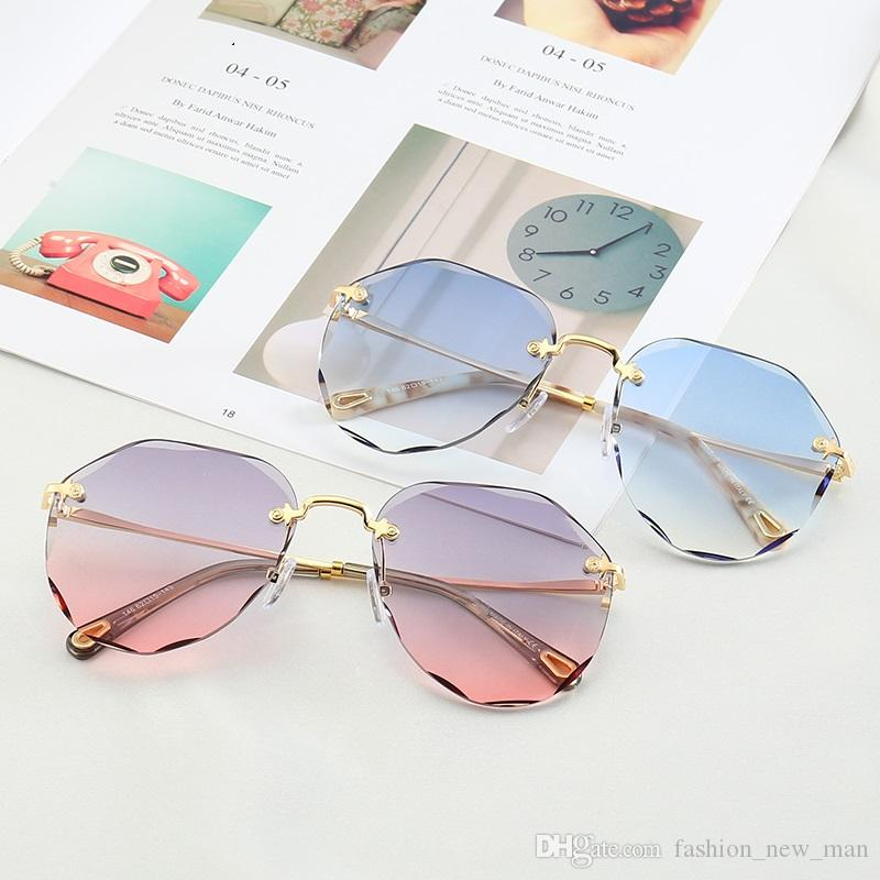 146 new fashion designer sunglasses goggles square frame top quality uv400 outdoor protection eyewear noble simple style