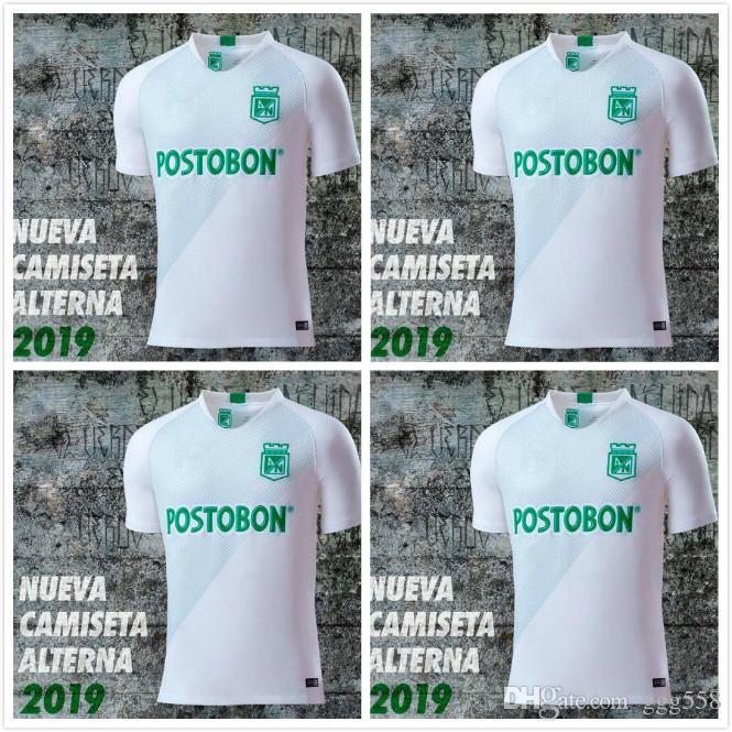ced16be944aa9 119 20 Argentina Atlético Nacional Medellín Fútbol Jersey Colombia Club  Medellín Inicio Verde Fútbol Camisetas De Manga Corta Camiseta Deportiva De  Fútbol ...