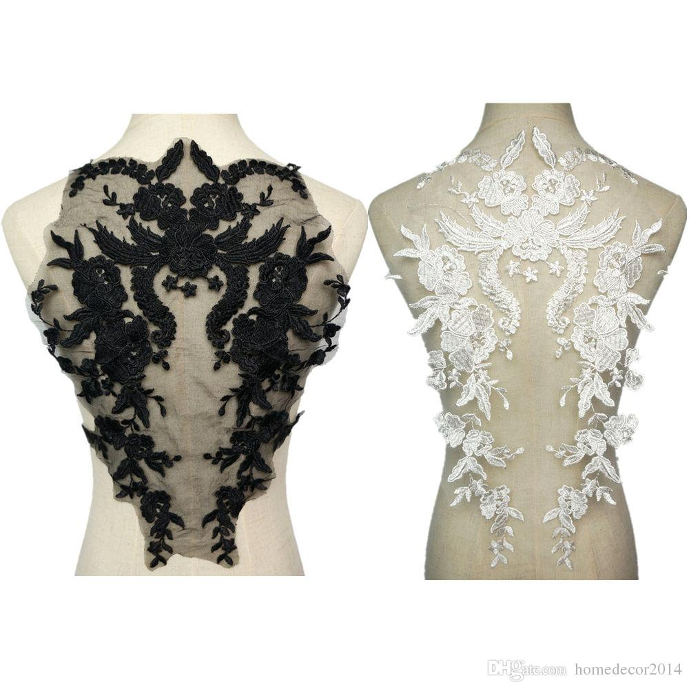Beautiful Iron On Applique Patch For Wedding Bridal Dresses Decorate Patch