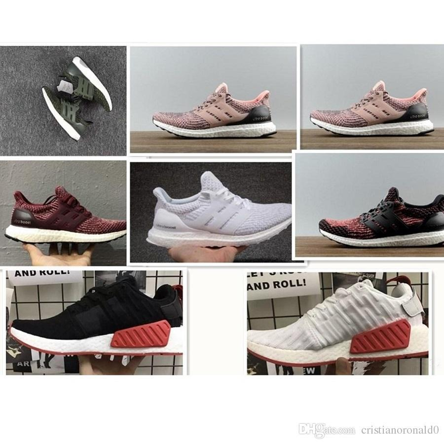 a1cd4493636 Fashion 2018 Ultra Boost Running Shoes 4.0 Triple White Black Grey Men  Ultraboost 3.0 Oreo Casual Shoes Sports Sneakers 40 45 Shoes Uk Pumps Shoes  From ...
