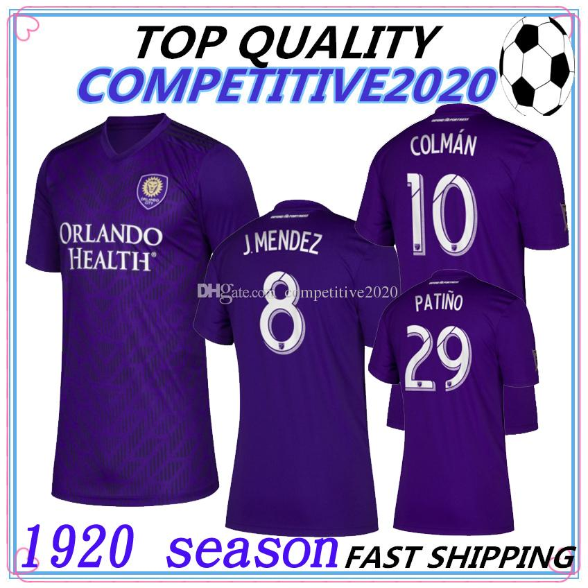 2019 MLS 2019 2020 Thailand Quality Orlando City Soccer Jersey 19 20 KAKA  DWYER COLMAN Football Jerseys Shirts From Competitive2020 57dce5fd80b0