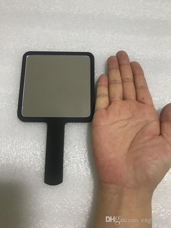 حار بيع 2019 جديد النمط الكلاسيكي c مصغرة ماكياج مرآة عالية الجودة اليد مرآة أدوات التجميل مع هدية مربع هدية الزفاف أنيتا لياو