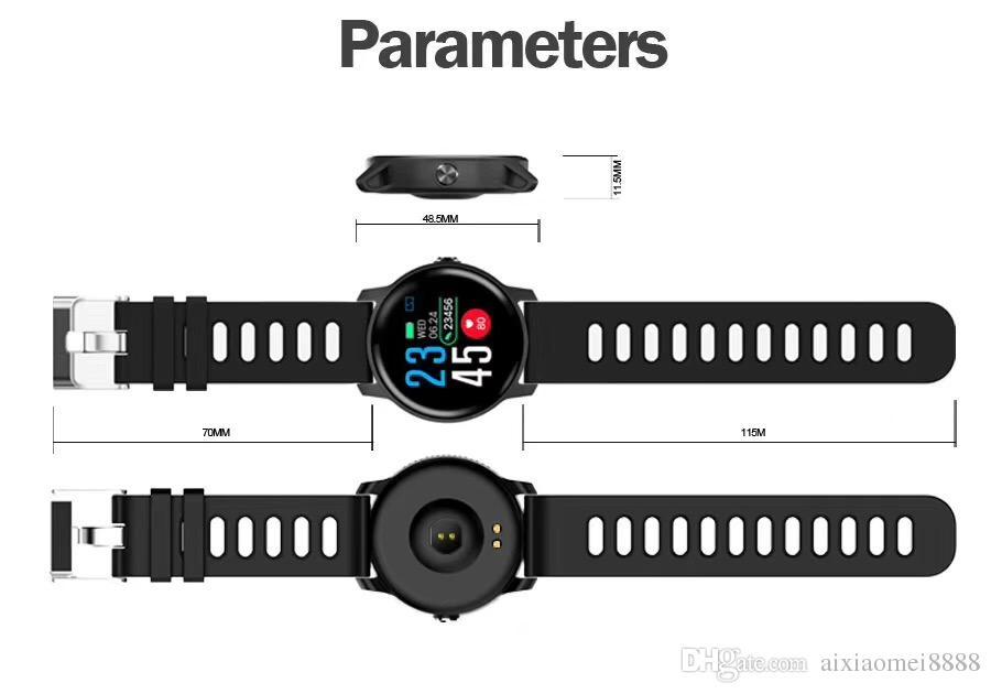 SENBONO Männer Smart Watch S08 IP68 Wasserdichte Fitness Tracker Pulsmesser Smartwatch Frauen Smartwatch Für Android IOS Telefon