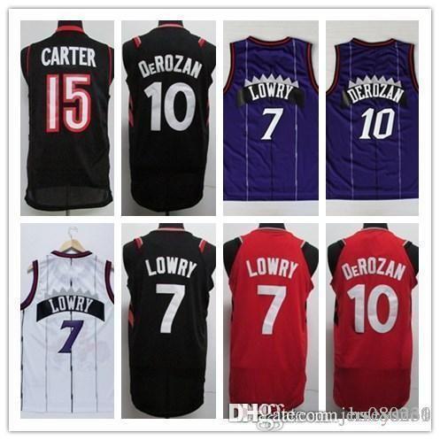 2019 2017 2018 New Brand Player Style Shirts 7 Kyle Lowry Raptors 10 Demar  DeRozan Red Black Stitched Jersey From Jerseysno4 f29baaf02