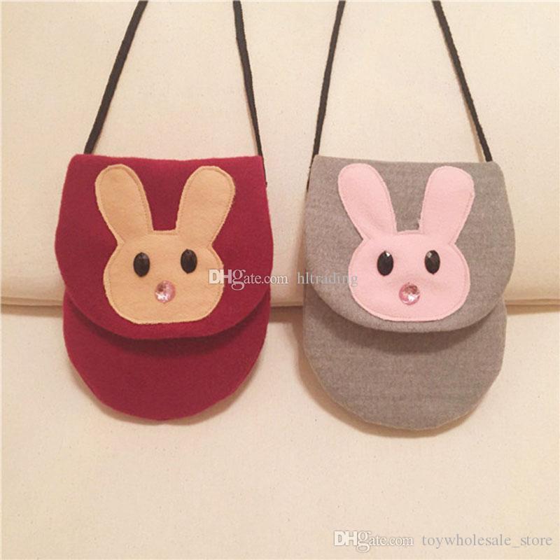 Crossbody-taschen Neue Koreanische Mädchen Niedlichen Kaninchen Taille Packs Kawaii Ohren Taille Taschen Kinder Baby Kinder Cartoon Mini Geldbörse Kind Tasche Kinder- & Babytaschen