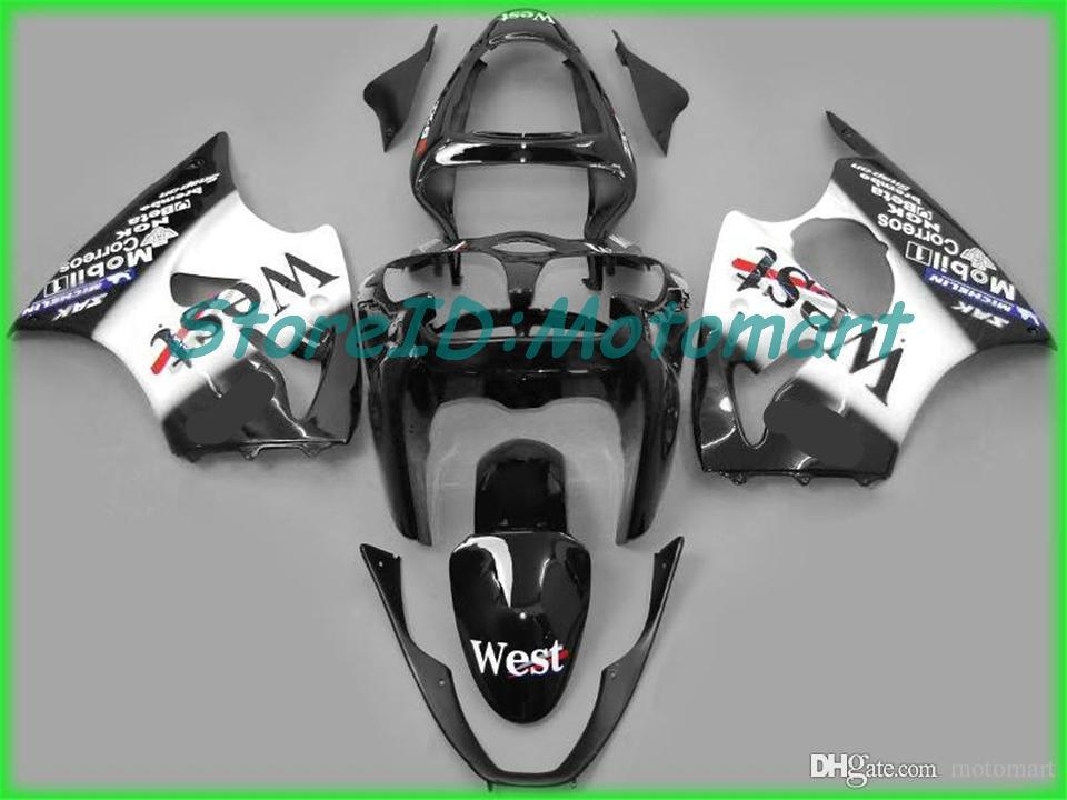 Carenado kit para Kawasaki ZX6R 00 01 02 ZX6R 2000-2002 636 ZX 6R 2000 2001 2002 Set de carenados ZX6R108