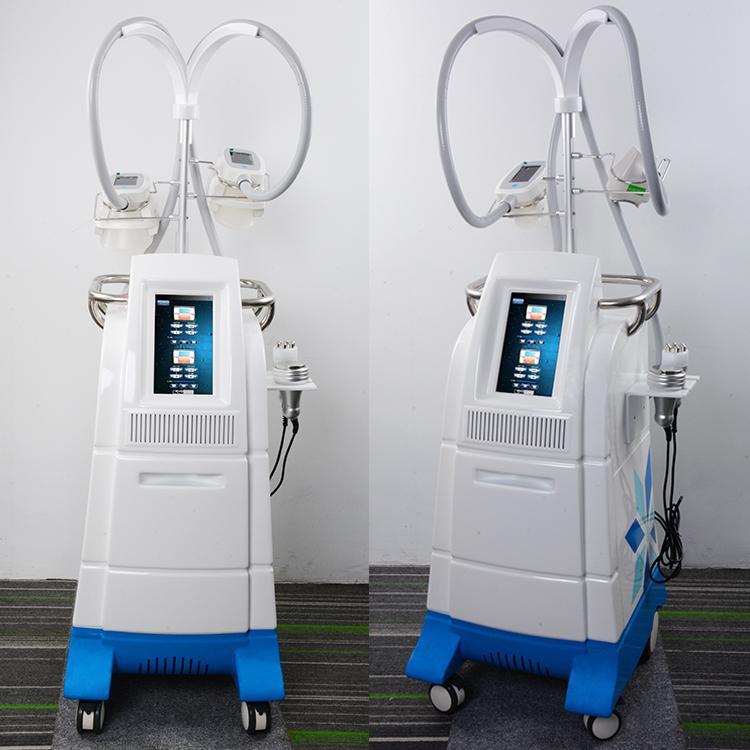 Salon Kullanımı İçin cryolipolysis makine ekipman Cryolipolysis zayıflama makinesi Kavitasyonun rf zayıflama Cryolipolysis kilo kaybı makine