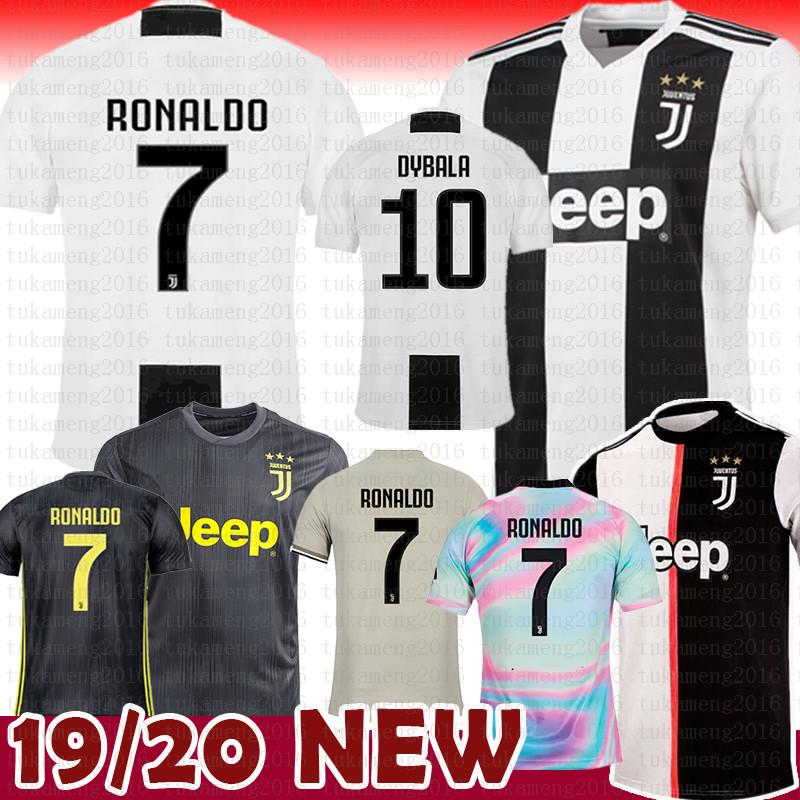 09566513b30 2019 18 19 Juventus Soccer Jersey 2018 JUV 7 Ronaldo Cuadrado CR7 9 HIGUAIN  10 DYBALA 11 D. Costa 17 MANDZUKIC 1 BUFFON 33 Football Uniforms From ...
