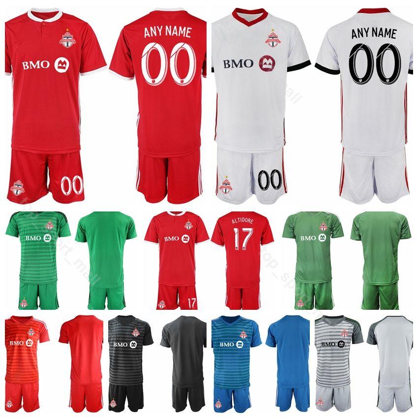 183d802b6 2019 Toronto FC Goalkeeper Soccer Jersey Set 18 19 Men 4 BRADLEY 10  GIOVINCO 17 ALTIDORE 21 OSORIO 5 MORGAN Football Shirt Kits Uniform From  Vip_sport, ...