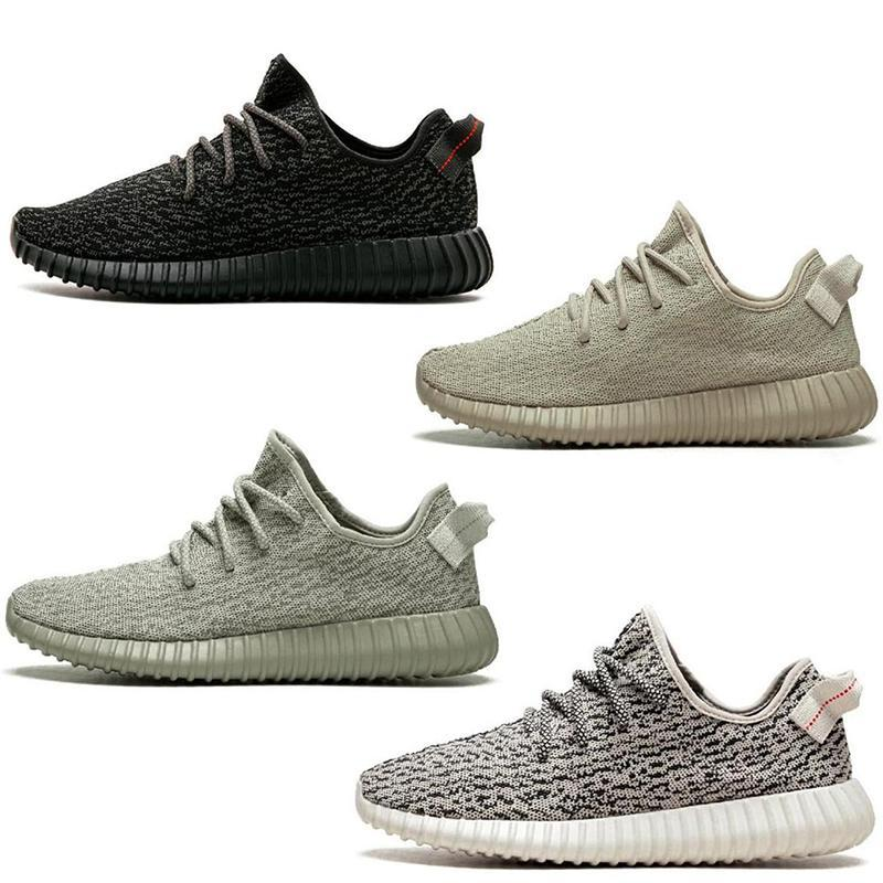 2019 New V1 Moonrock Pirate Noir Oxford Tortue Brun Dove Gris Femmes Hommes Chaussures De Course Sport Kanye West Mode Casual Baskets