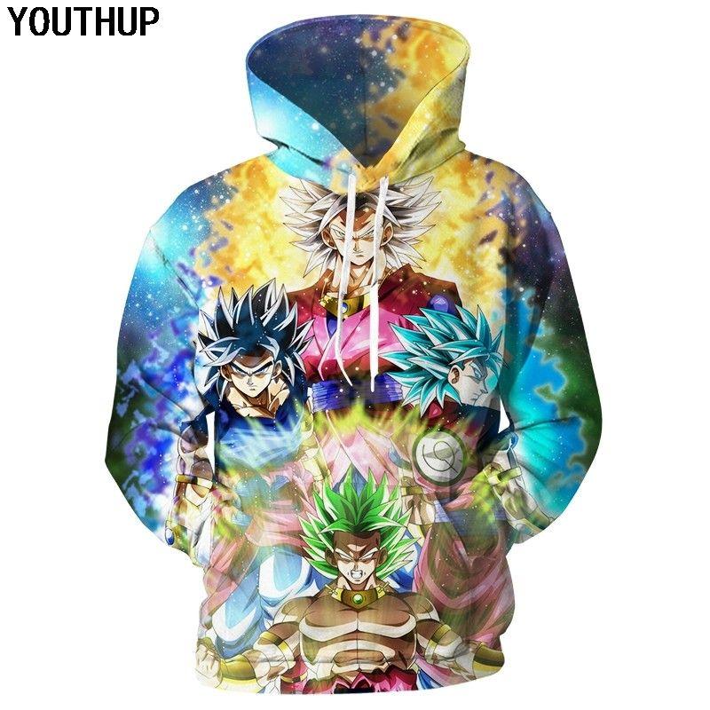 Compre 2018 Nuevo Diseño Dragon Ball Hoodies Hombres Super Hoodies  Impresión 3D Goku Sudadera Anime Cool Tops Hombre Hip Hop Streetwear A   30.77 Del ... 8219c988aa31e