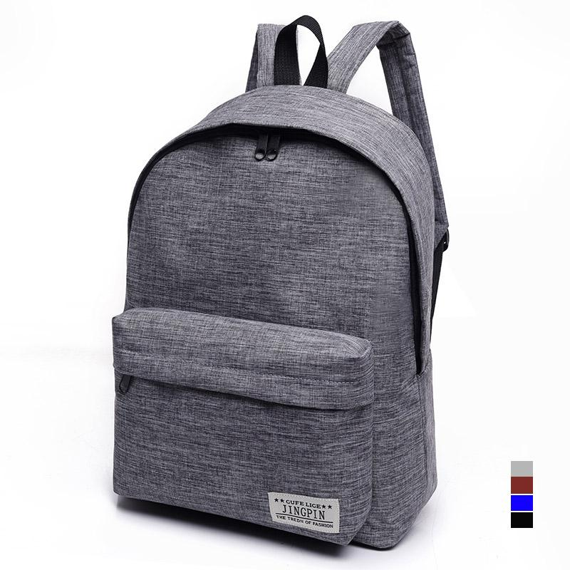 9ea7ef05060b Bacisco Canvas Backpack Women Men Large Capacity Laptop Backpack Student School  Bags for Teenagers Travel Backpacks Mochila School Bags for Teenagers Bags  ...